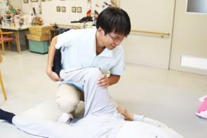 理学療法士による関節可動