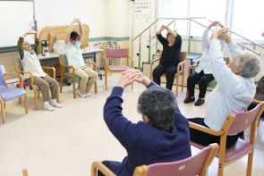 集団での運動向上訓練